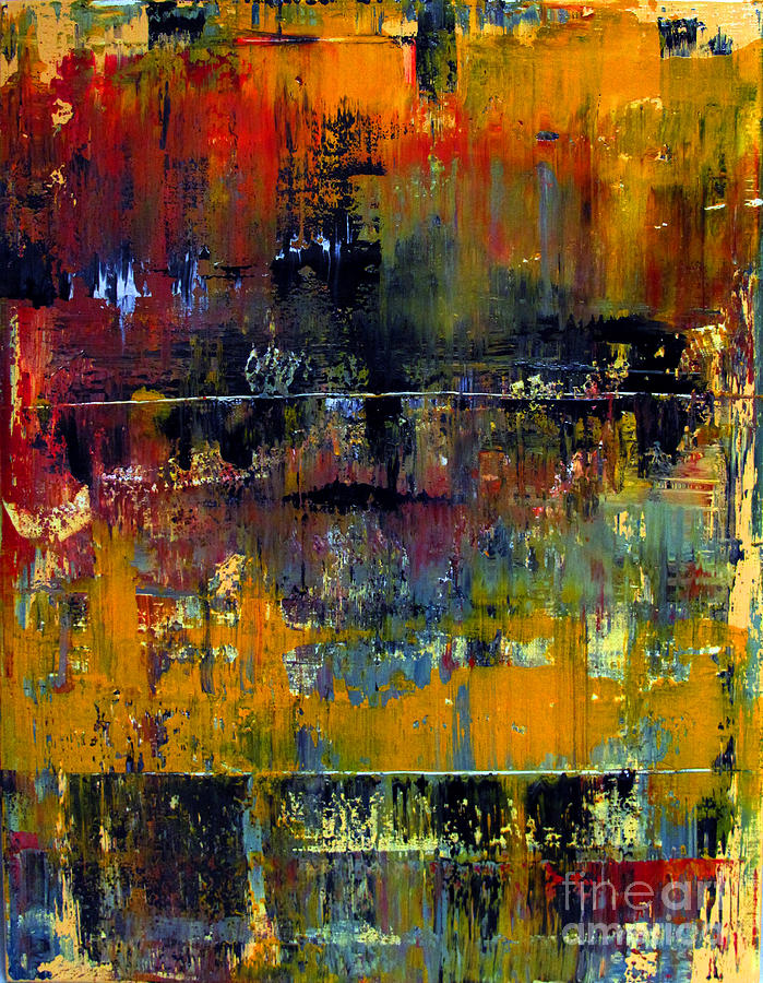 Abstraction Painting - Artifact 27 by Charlie Spear