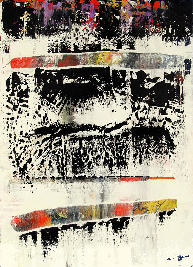 Abstraction Painting - Artifact 28 by Charlie Spear