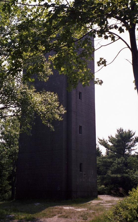 Maine Photograph - Artillery Spotting Tower by David Fiske
