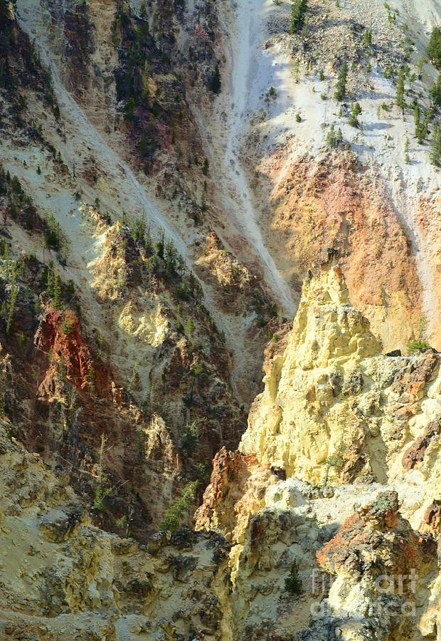 Artist Photograph - Artist Palette Of Yellowstone by Kathleen Struckle