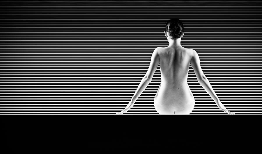 Artistic Nude Pyrography by Dan Comaniciu