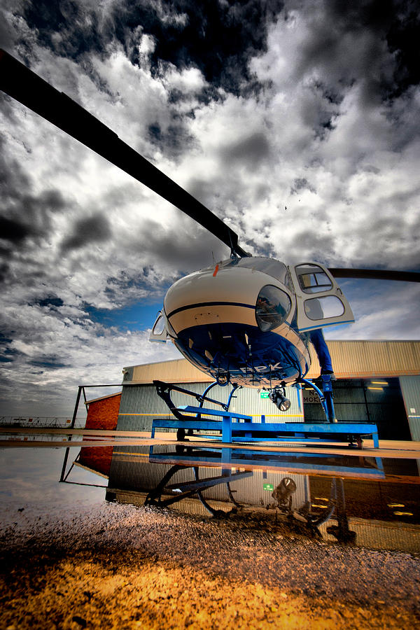Eurocopter As350 Ecureuil (squirrel) Photograph - Artistic Squirrel by Paul Job