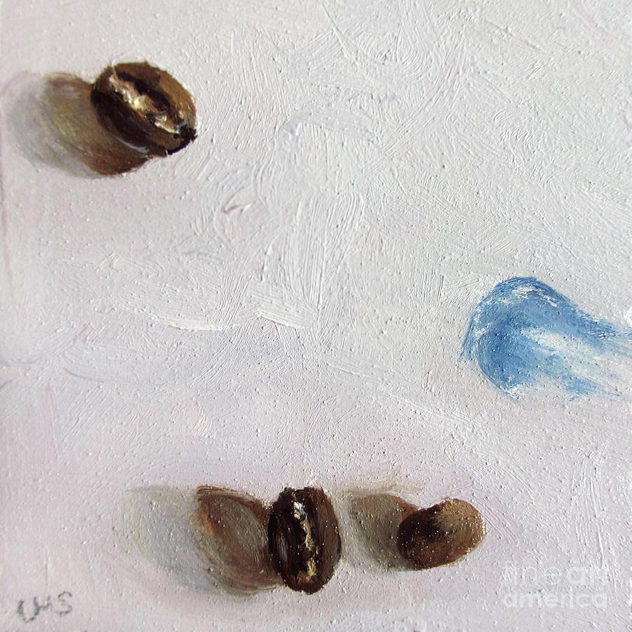 Coffee Painting - Artists Coffee Break by Ulrike Miesen-Schuermann