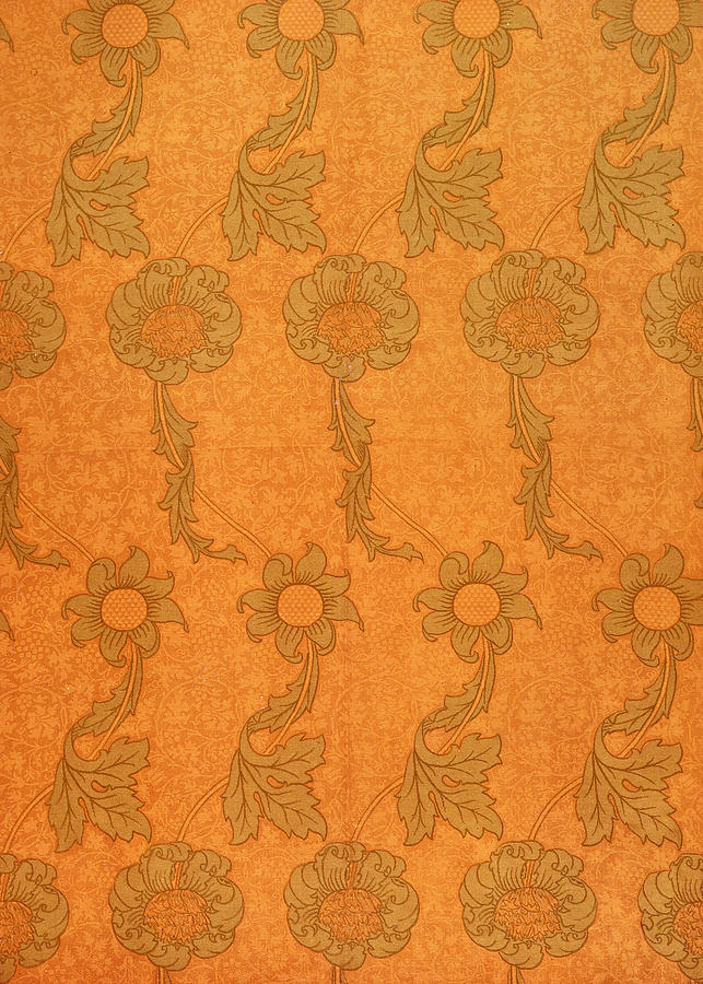 Pattern Tapestry - Textile - Arts And Crafts Design by William Morris