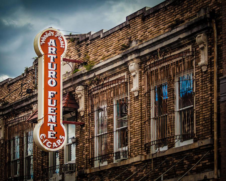 Tampa Photograph - Arturo Fuente by Ybor Photography