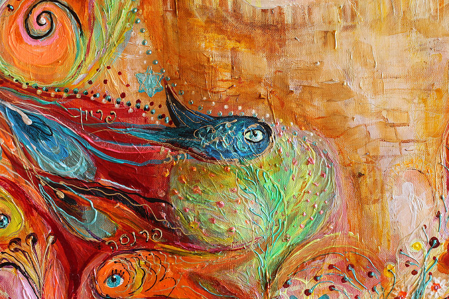 Artwork Fragment 65 Painting by Elena Kotliarker