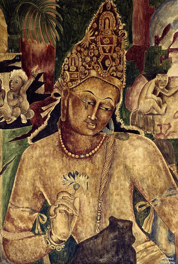 Artwork From Ajanta Caves India
