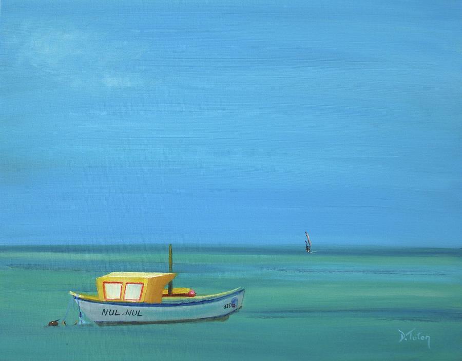 Aruba Painting - Aruba by Donna Tuten