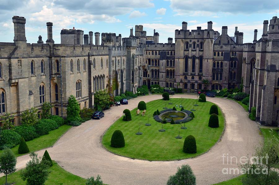 Arundel Castle Courtyard by Scott D Welch