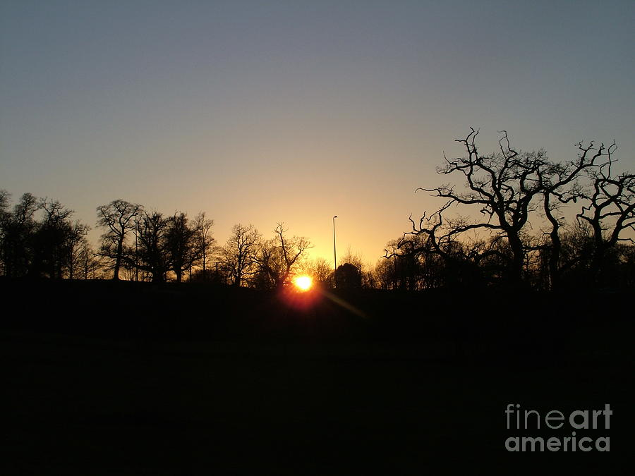 Sunset Photograph - Arundel Sunset by Mark Bowden