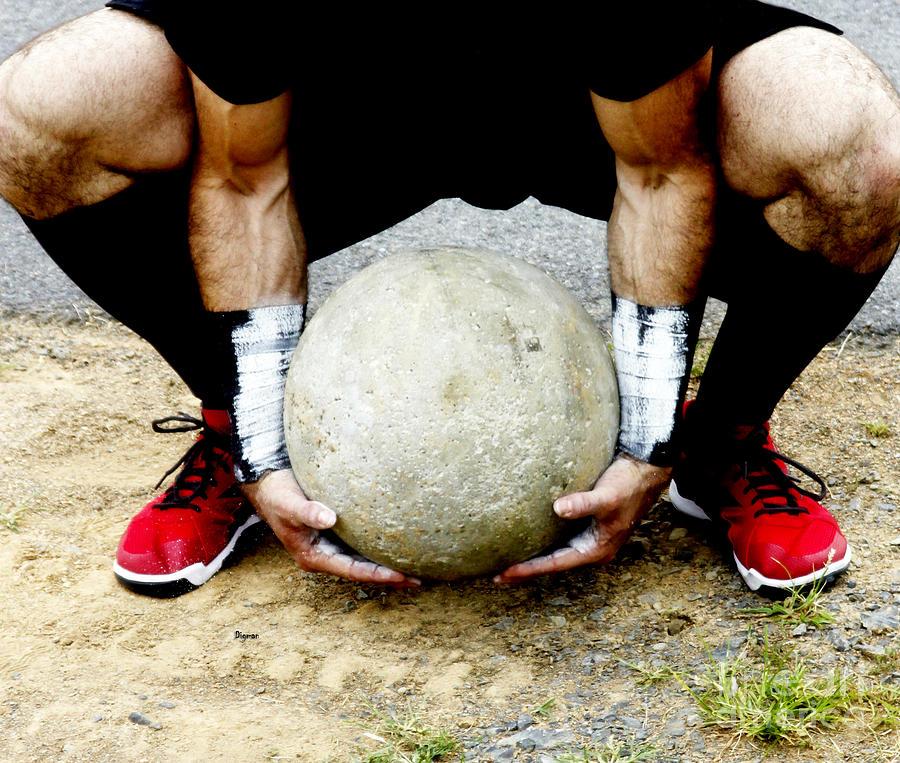 Sports Photograph - As Atlas Struggles  by Steven Digman