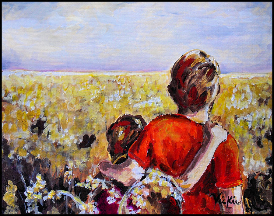 Summer Painting - As Far As The Eye Can See by Vickie Warner