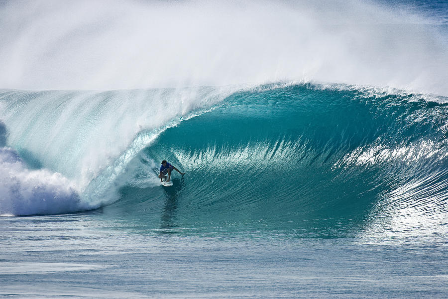 Big Wave Surfing Photograph - As Good As It Gets. by Sean Davey