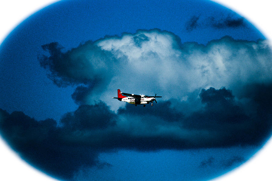 As High As The Clouds Photograph - As High As The Clouds by Lisa Cortez