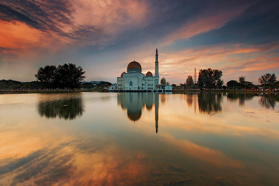 As-salam Mosque Photograph by Ssphotography