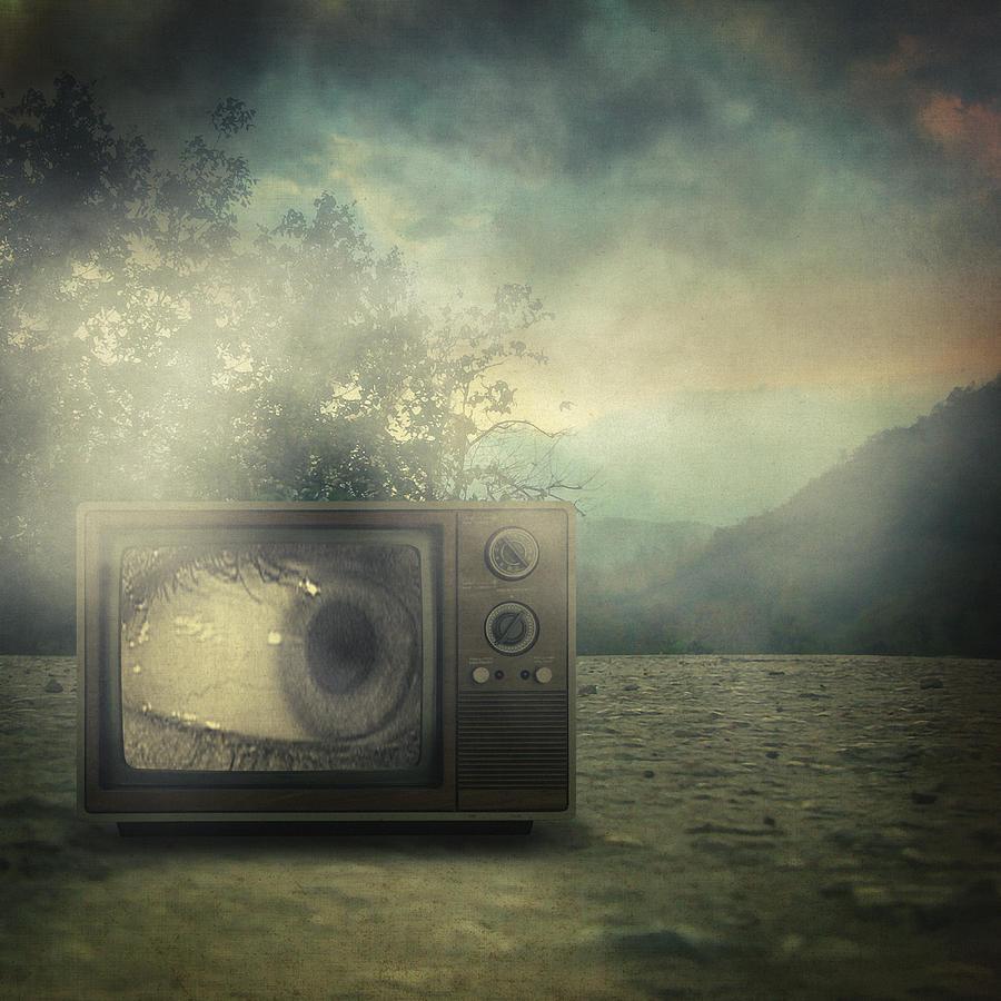 Surreal Photograph - As Seen On Tv by Taylan Apukovska
