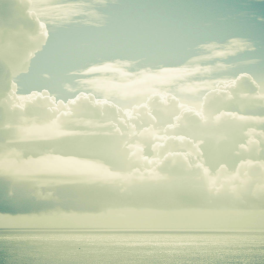 Nature Photograph - As the Clouds Gathered by Cassia Beck