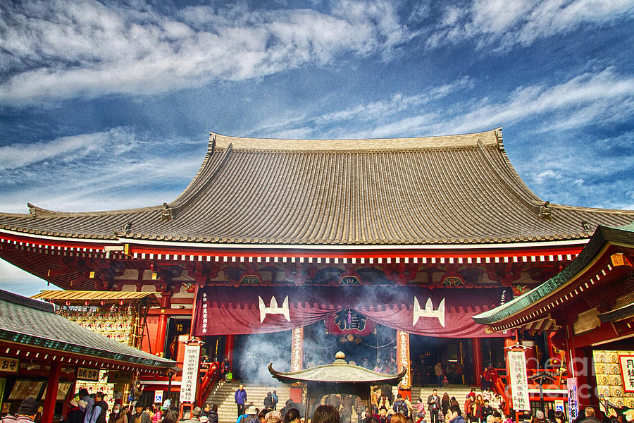 Japan Photograph - Asakusa-2 by Tad Kanazaki