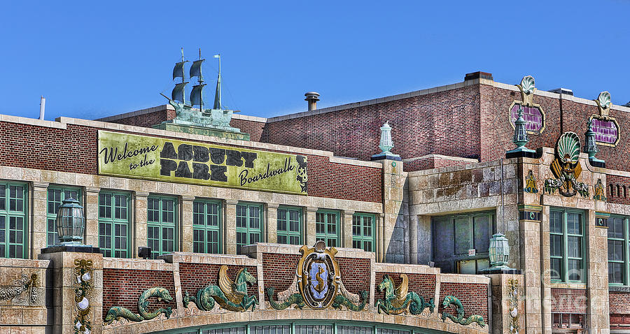Asbury Park Convention Hall And Paramount Theatre  Photograph by Lee Dos Santos