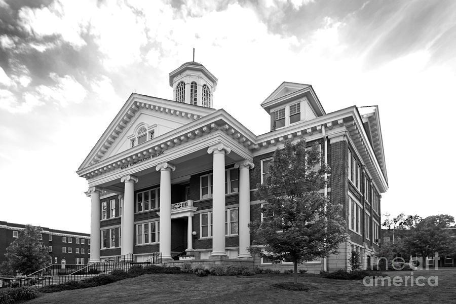 Administration Photograph - Asbury University Hager Administration Building by University Icons