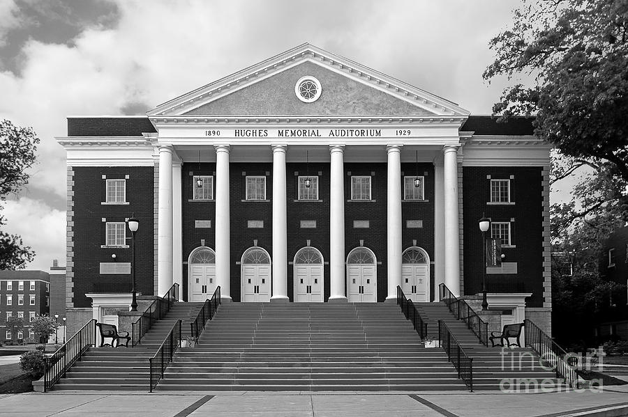 Asbury Theological Seminary Photograph - Asbury University Hughes Memorial Auditorium by University Icons