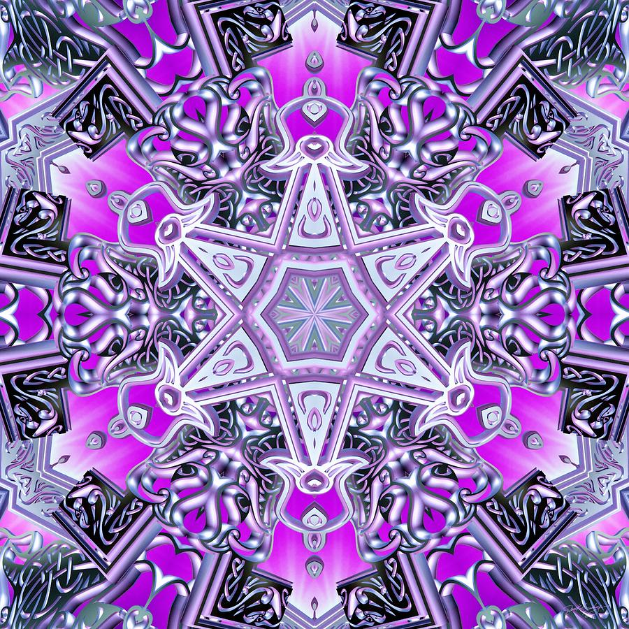 Sacredlife Mandalas Digital Art - Ascended Spirit by Derek Gedney