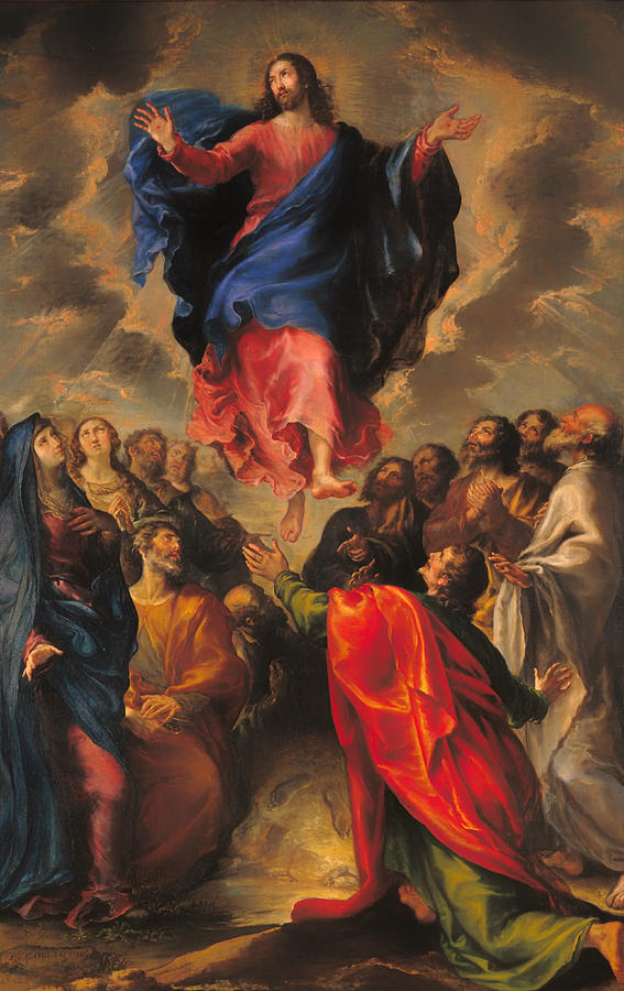 Paintings Of Christ S Ascension