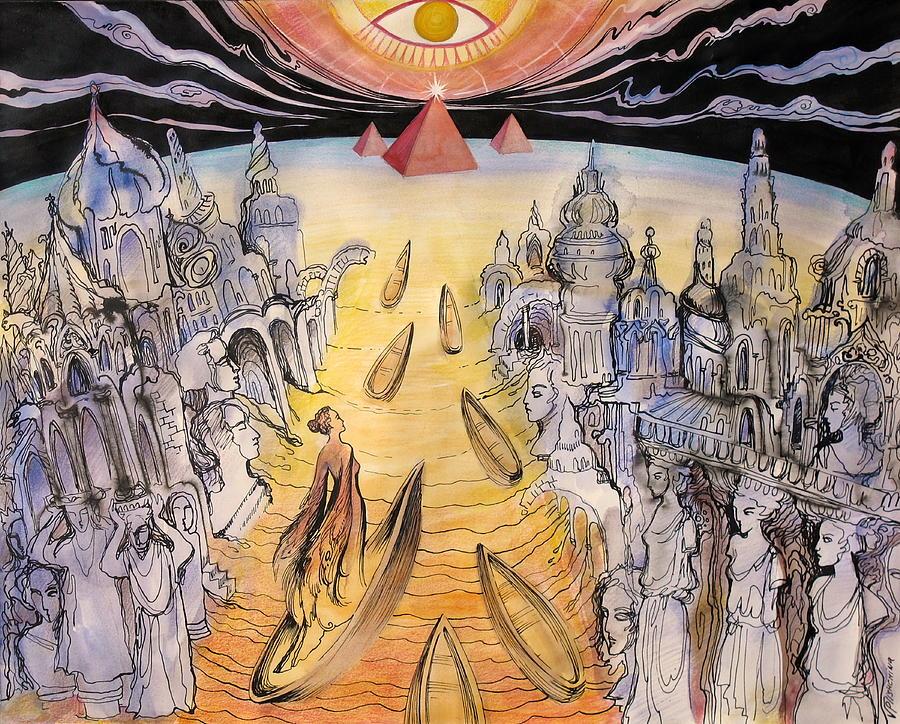 Ascension by Valentina Plishchina