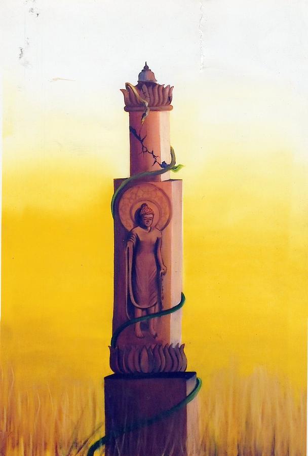 Asha Painting by Aasha Pareek