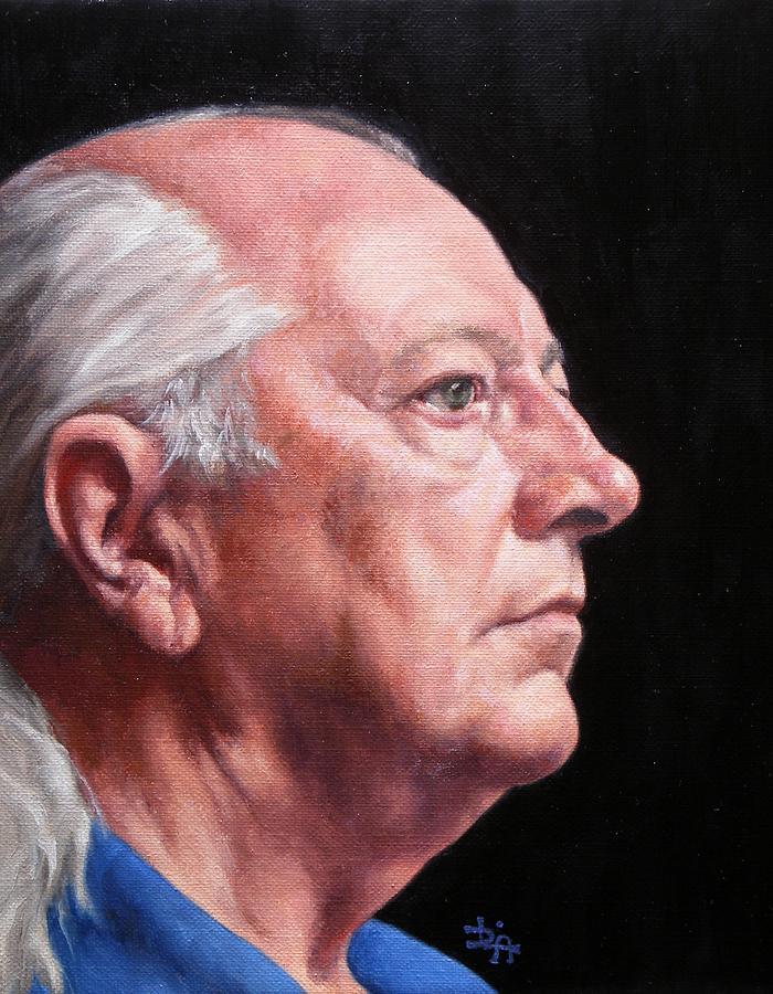 Portrait Painting - Ashbys Portrait by Deborah Allison
