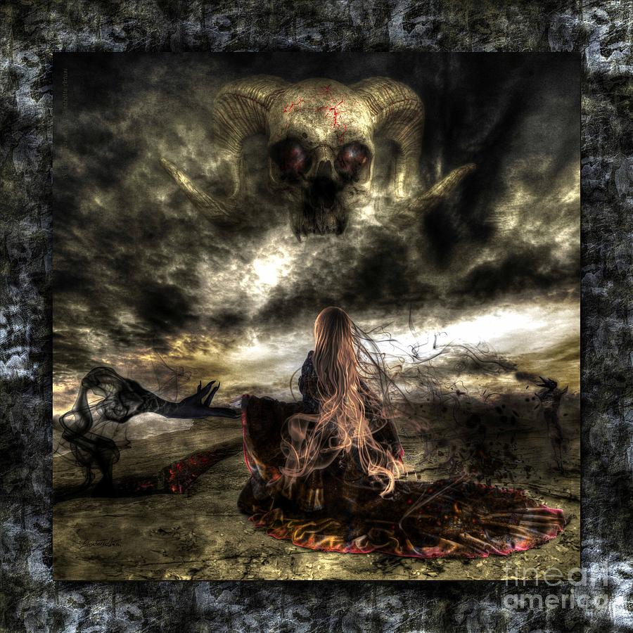 Dust To Dust Digital Art - Ashes To Ashes by Betta Artusi