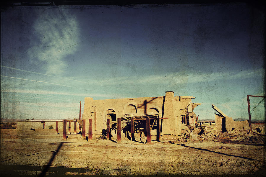 Dilapidated Photograph - Ashes To Ashes by Laurie Search