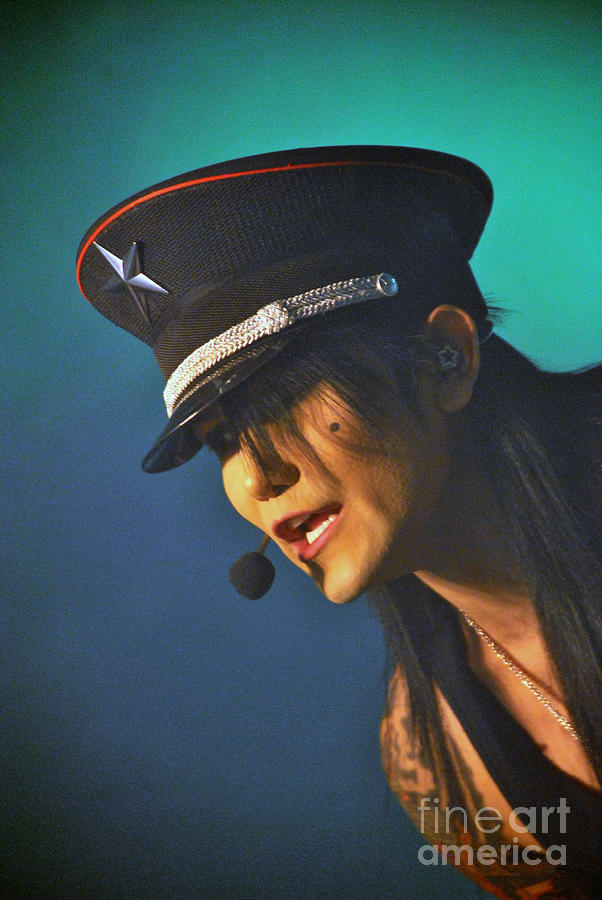 Ashley Purdy Photograph - Ashley Purdy by Gino Inocentes