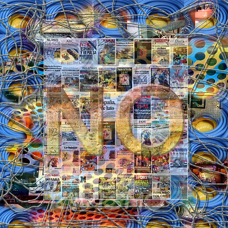 Asi No Painting by Ramon Rivas - Rivismo