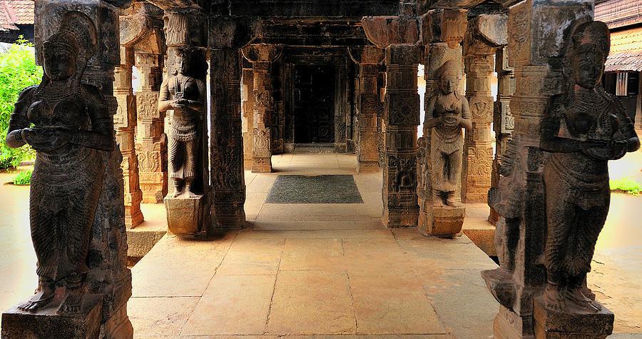 Ancient Photograph - Asia, India, Tamil Nadu, Padmanabhapuram by Steve Roxbury
