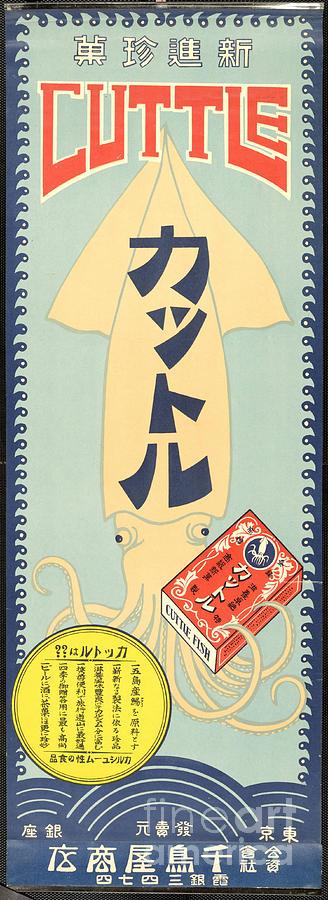 Asian Taisho Poster 1912 Drawing