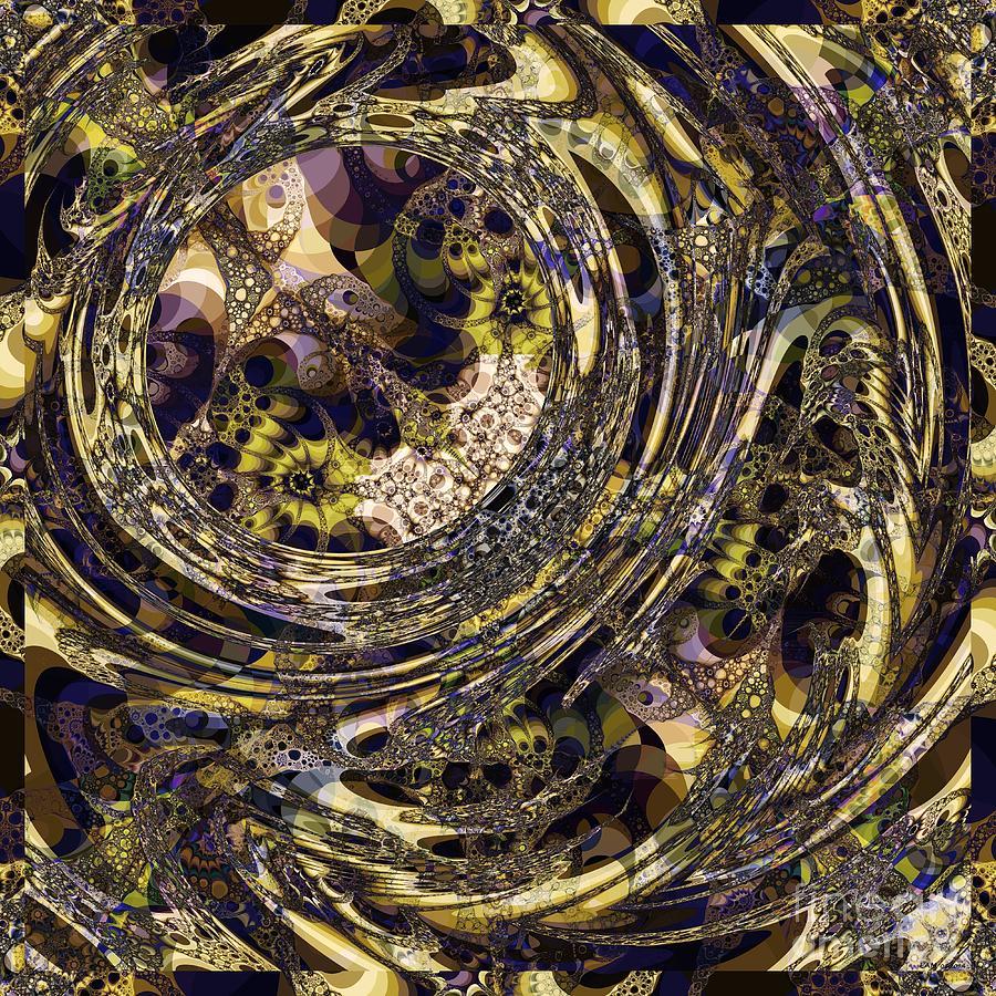 Askew Digital Art - Askew by Elizabeth McTaggart