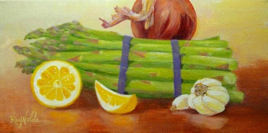 Asparagus For Dinner by Carol Reynolds