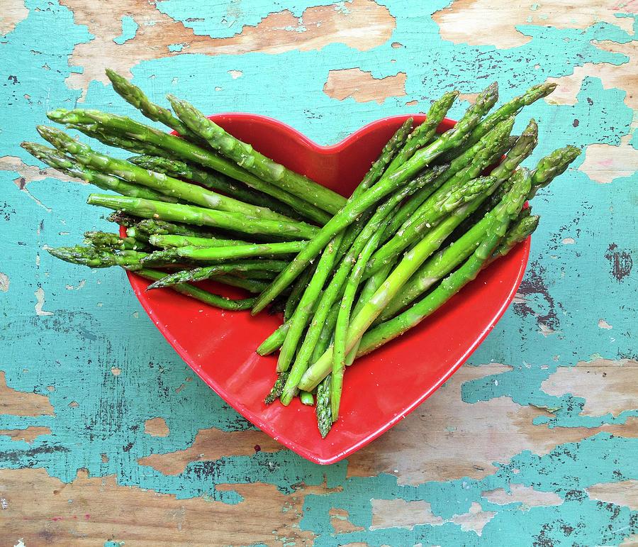 Asparagus Photograph by Sarah Palmer