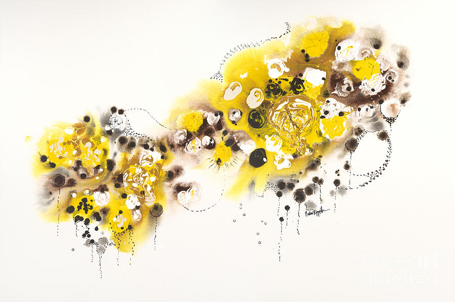 Aspens Painting - Aspen Celebration #2 by Nadine Rippelmeyer