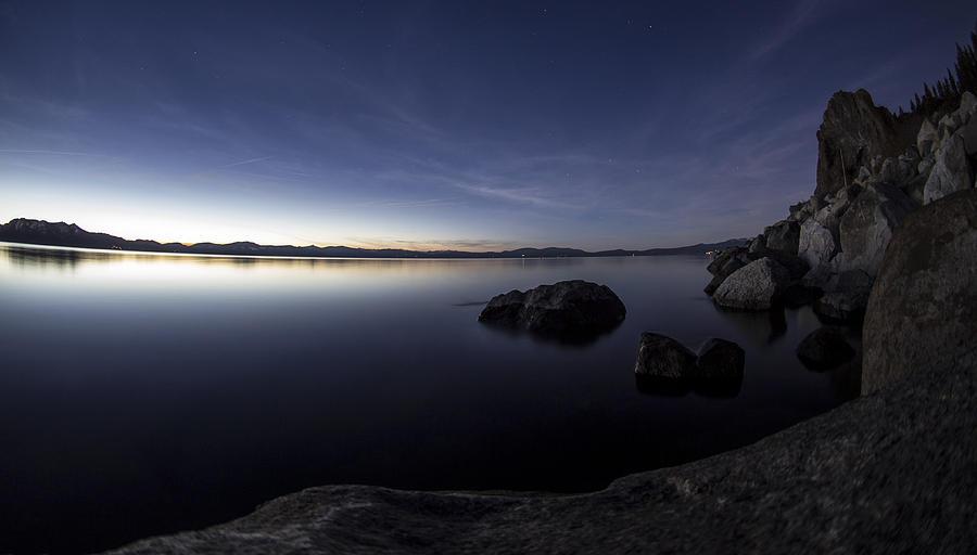 Cave Rock Photograph - Aspen Glow by Brad Scott