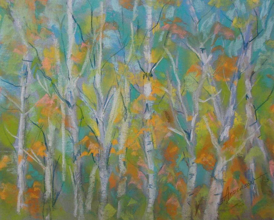 Landscape Pastel - Aspen by Sherri Anderson