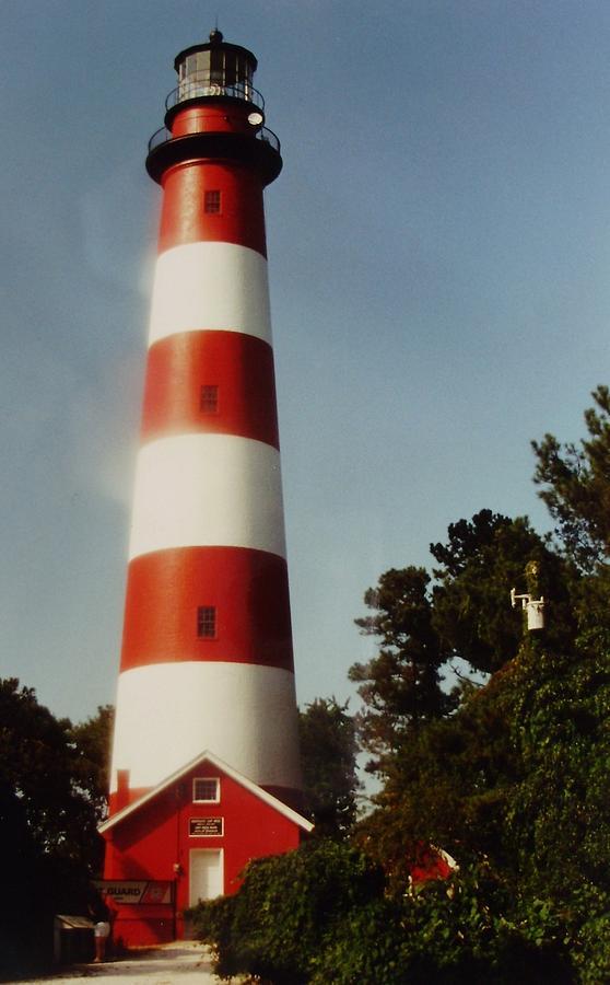 Lighthouse Photograph - Assateague Lighthouse by Joann Renner