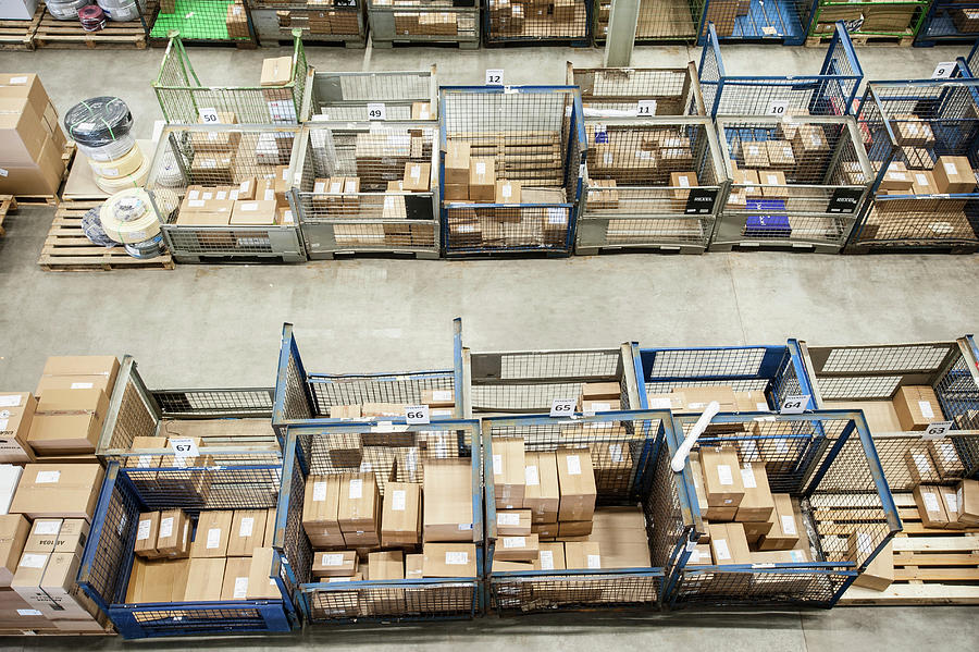 Assembled Orders In Distribution Photograph by Arno Masse