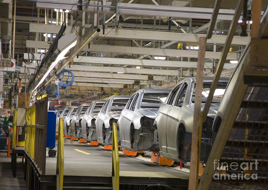 Assembly Line Photograph