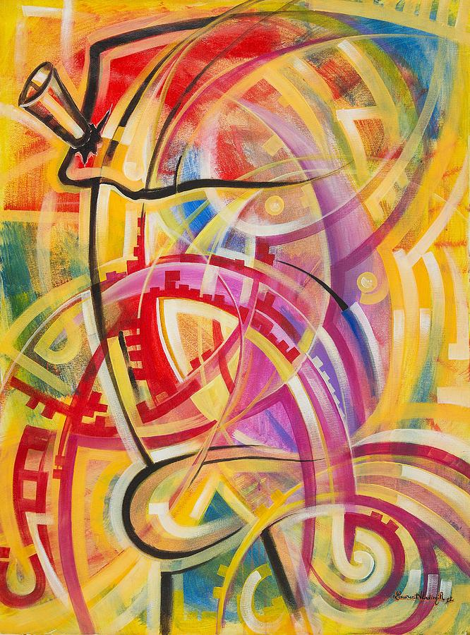 Drum Painting - Assortor by Assaph