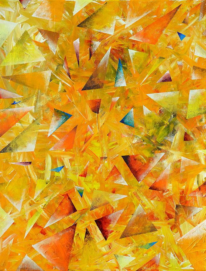 Star Painting - Asterisms by Regina Valluzzi