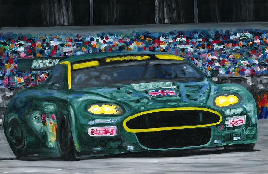 Aston Martin Wins Le Mans 2008 by Ran Andrews