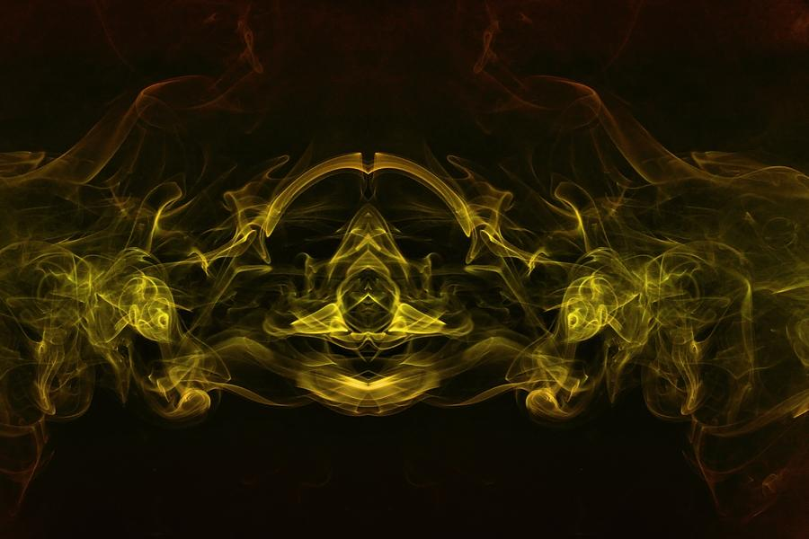 Smoke Photograph - Astral Cruiser by Mike Farslow