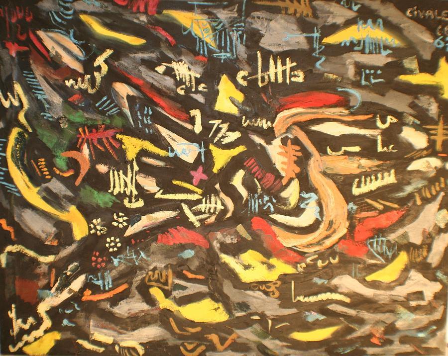 Astratto 1957 by Biagio Civale